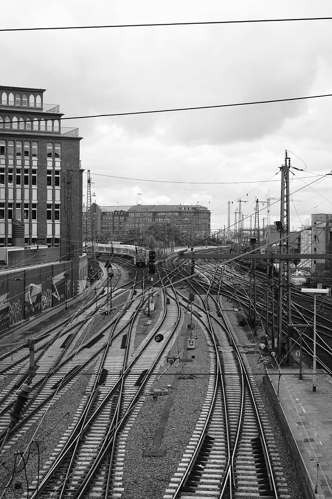 Gleise, Hamburg